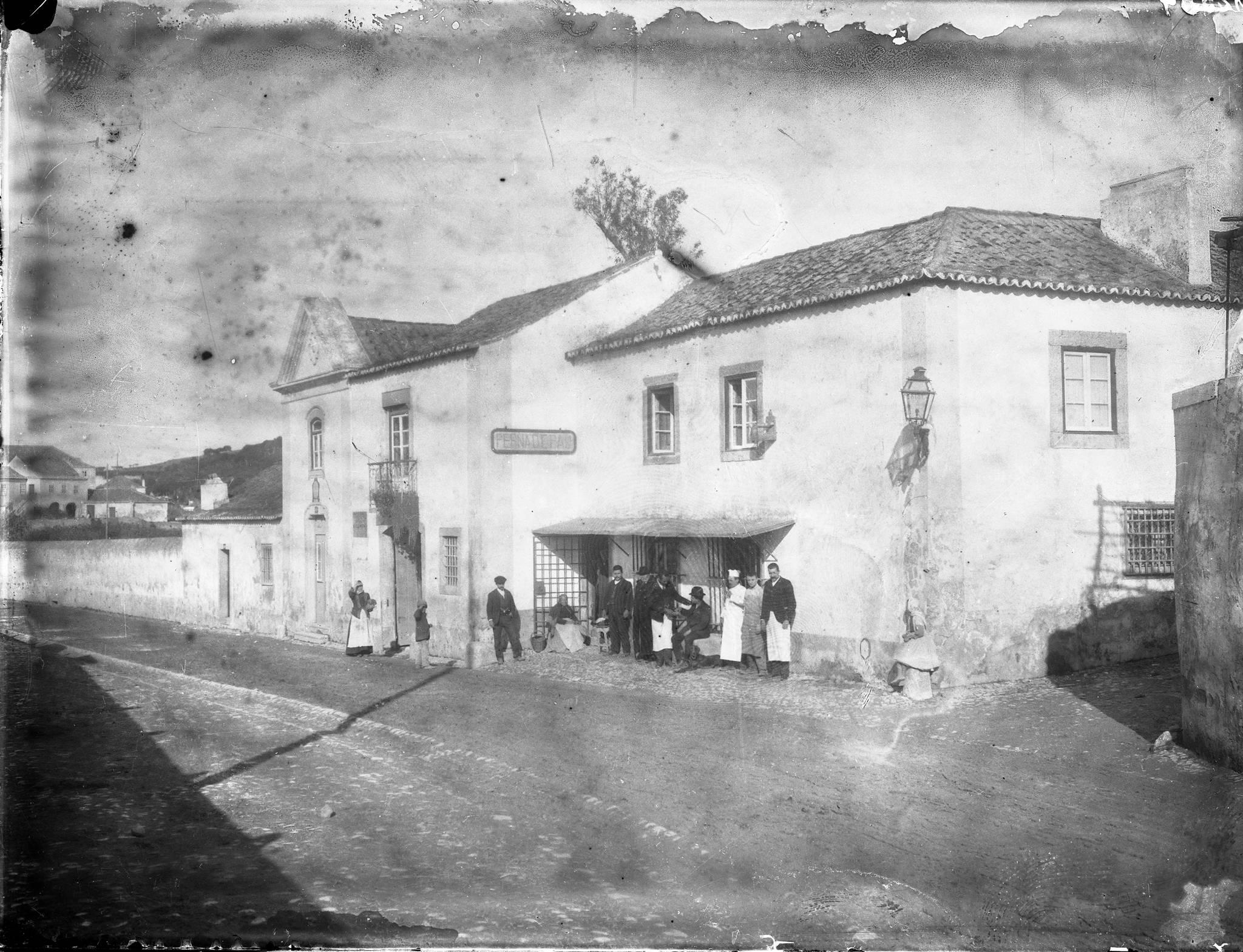 Perna de Pau, Areeiro (C.A.Lima, c. 1900)