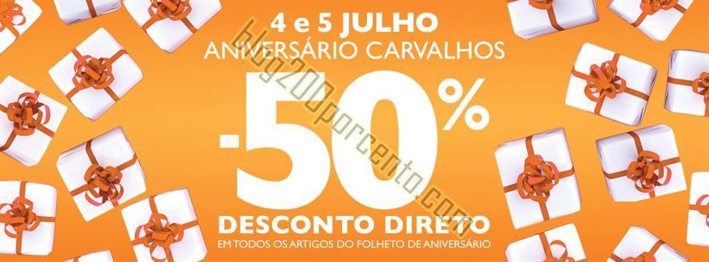 Antevisão 50% desconto DEBORLA Carvalhos dias 4 e