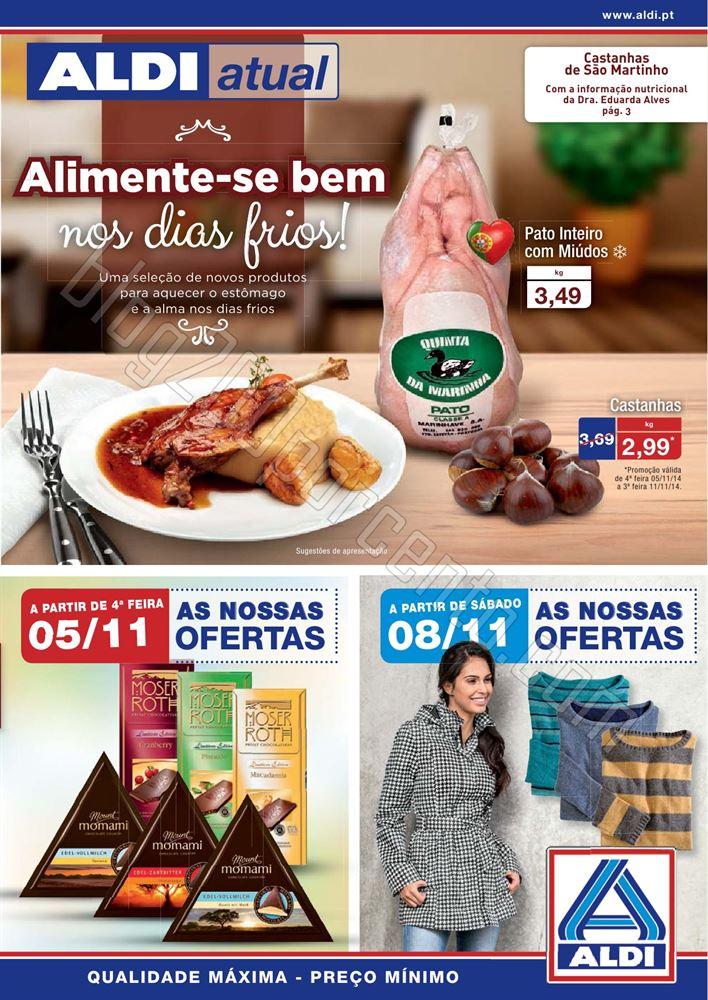 Antevisão Folheto ALDI a partir de 5 novembro p1.
