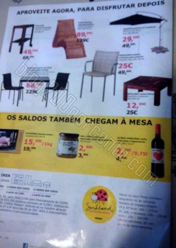 Antevisão Saldos IKEA até 70% desconto de 28 dez