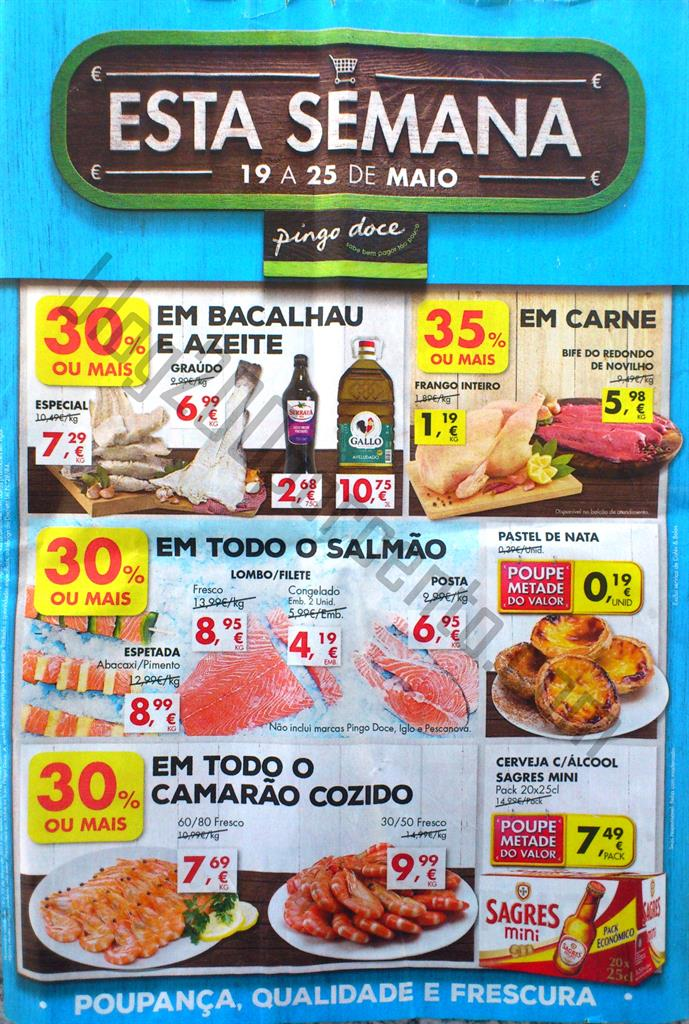 Antevisão Folheto PINGO DOCE Promoções de 19 a