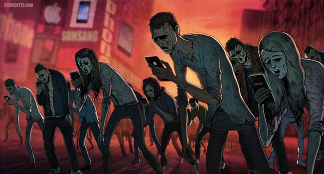 Sad Modern World by Steve Cutts
