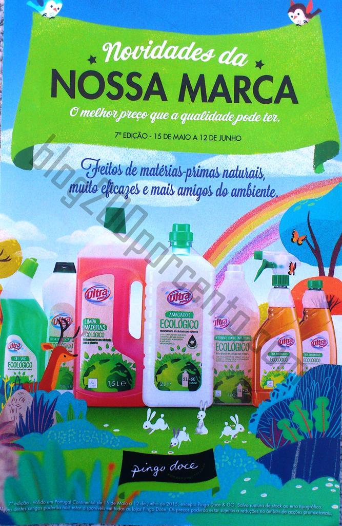 Novo Folheto PINGO DOCE Nossa Marca Promoções at