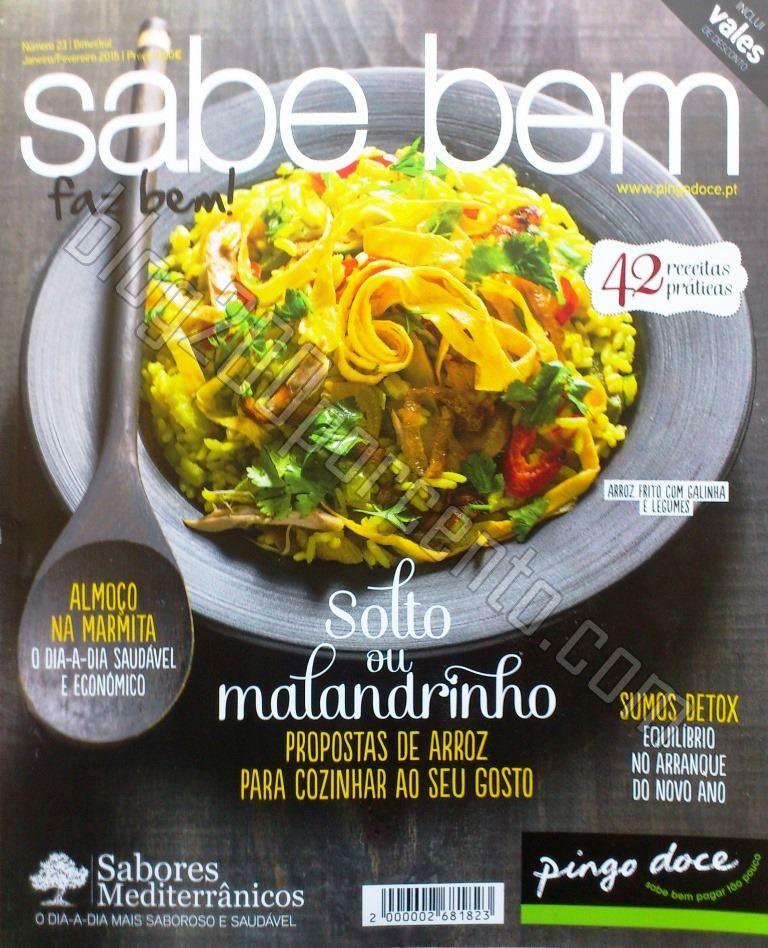 Vales de desconto da nova revista SABE BEM do Ping