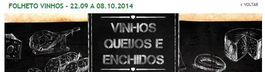 Novo Folheto JUMBO Queijos vinhos e enchidos de 22 setembro a 8 outubro
