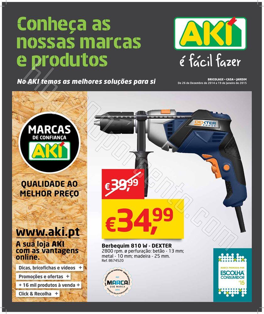 Novo Folheto AKI Promoções de 26 dezembro a 19 j