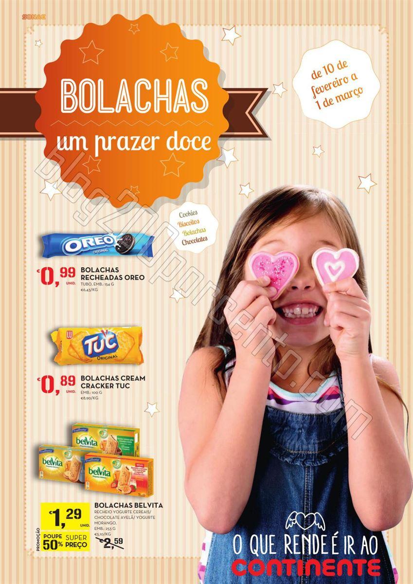 Antevisão Folheto CONTINENTE Bolachas de 10 fever