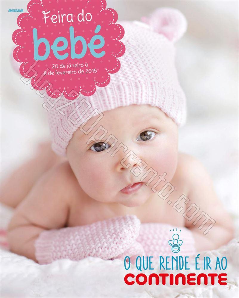 Antevisão Folheto CONTINENTE Feira do Bebé de 20