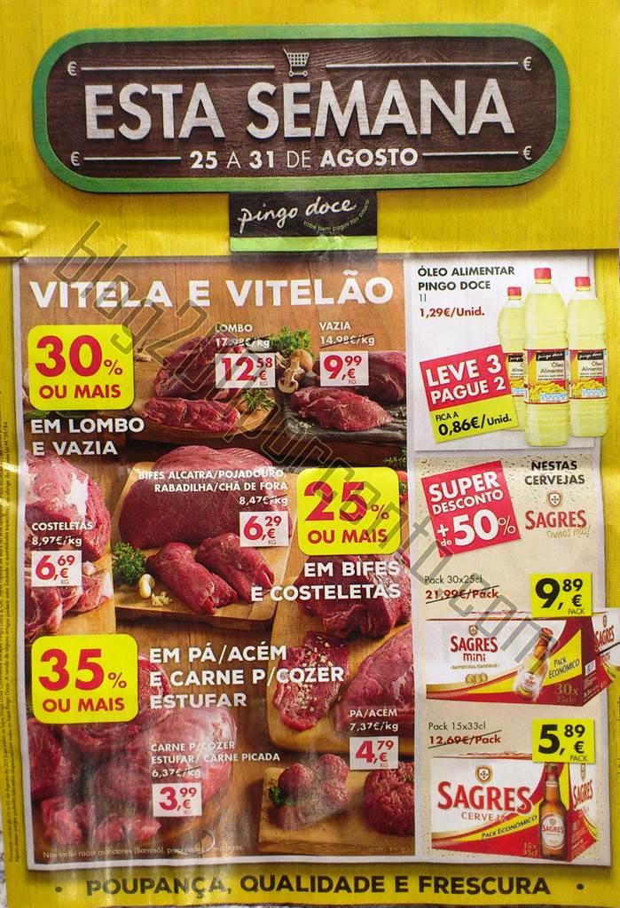 Antevisão folheto PINGO DOCE Promoções de 25 a