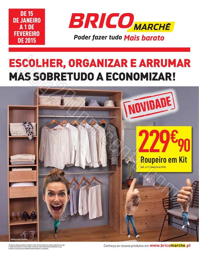 Antevisão Folheto BRICOMARCHÉ de 15 janeiro a 1