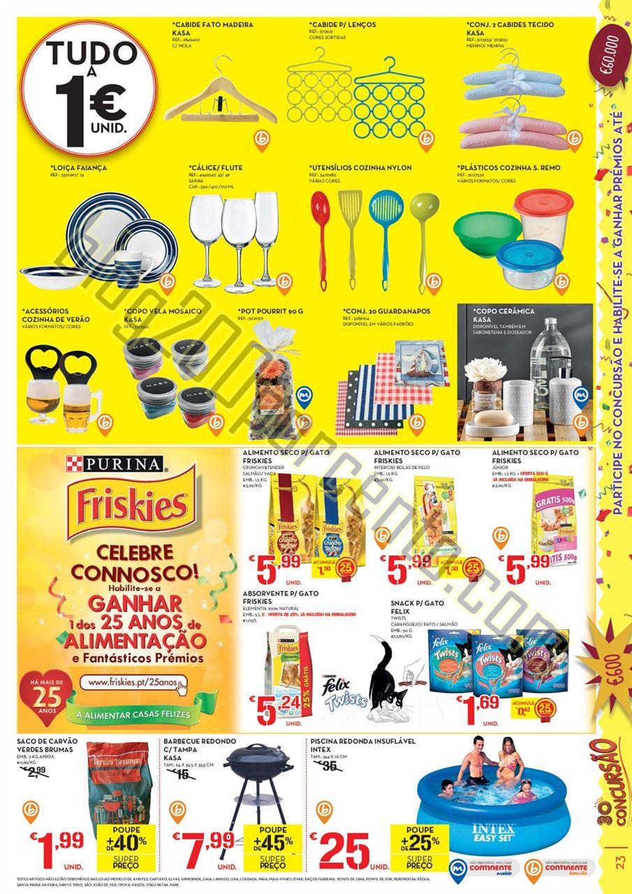 Antevisão folheto CONTINENTE promoções de 14 a