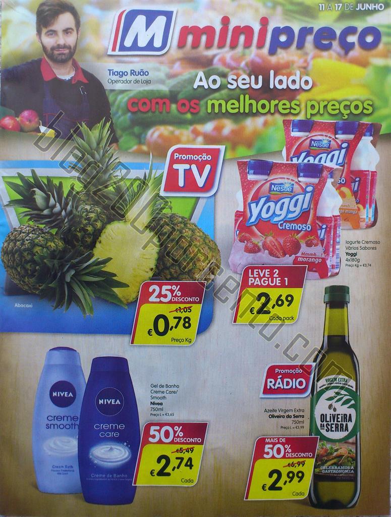 Antevisão Folheto MINIPREÇO Promoções de 11 a