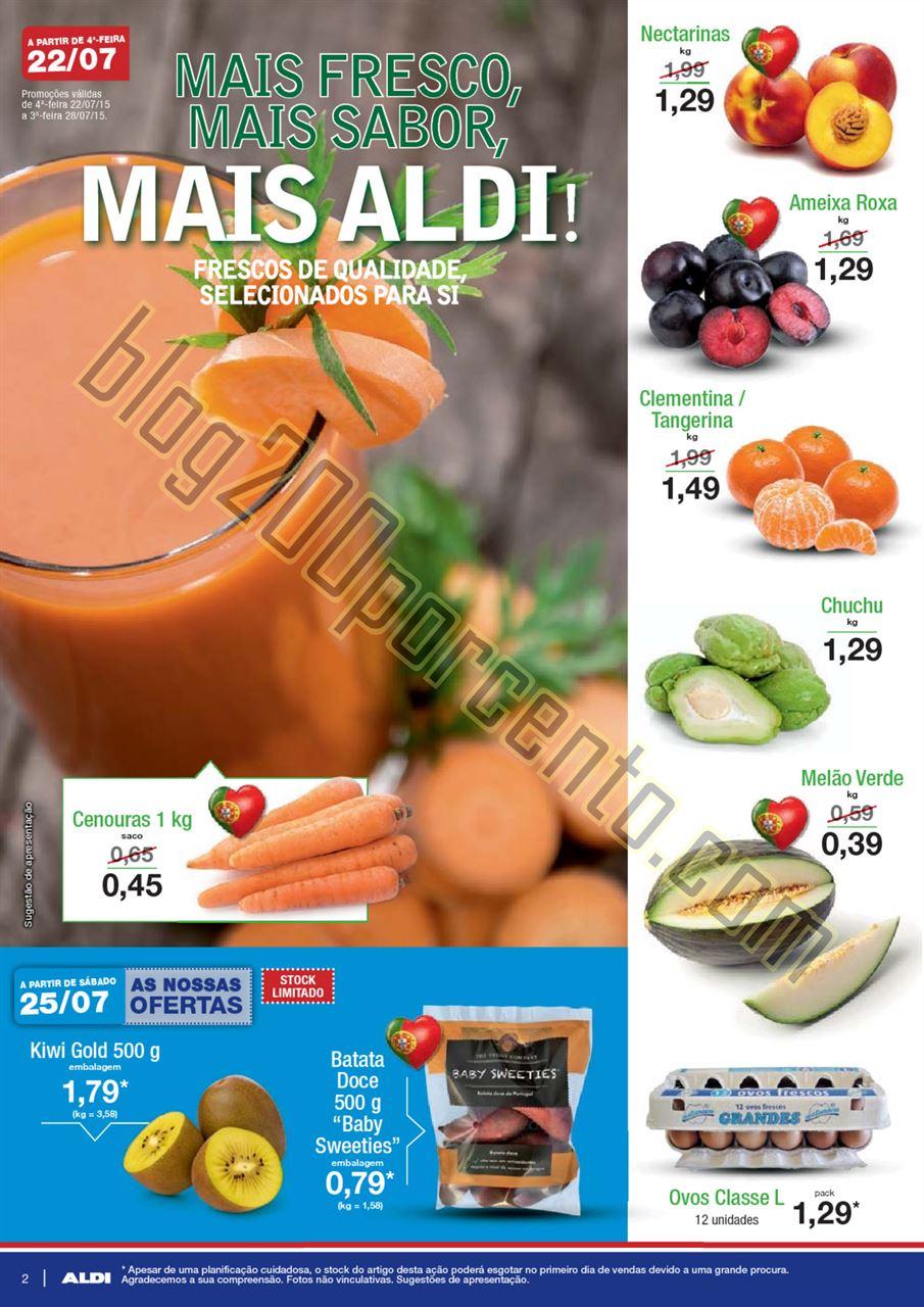Antevisão Folheto ALDI Promoções a partir de 22