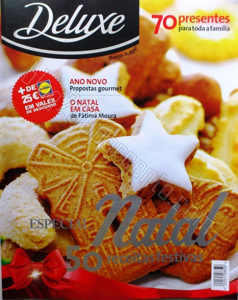 Nova Revista DELUXE - LIDL Natal, com mais de 25