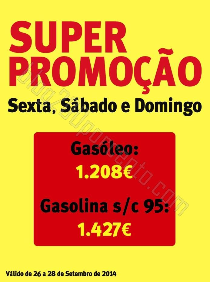 Promoção JUMBO Combustíveis de 26 a 28 setembro