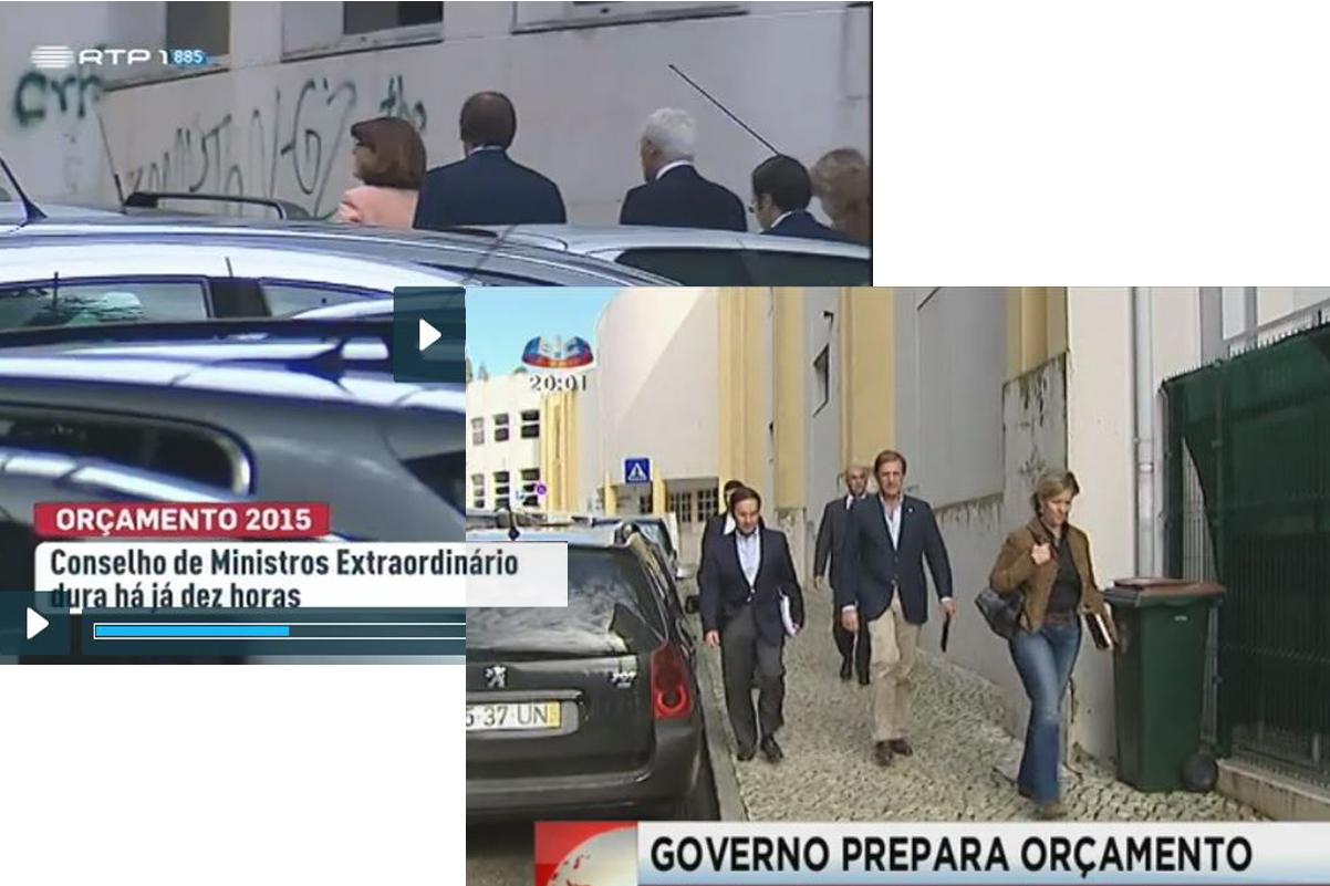 Pose de Estado, Lisboa (R.T.P., S.I.C., 2014)