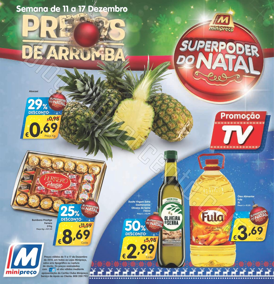 Antevisão Folheto MINIPREÇO de 11 a 17 dezembro