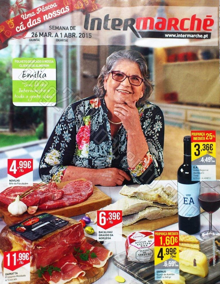 Antevisão Folheto INTERMARCHÉ Promoções de 26