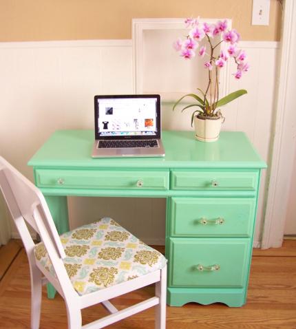 Mint-green-computer