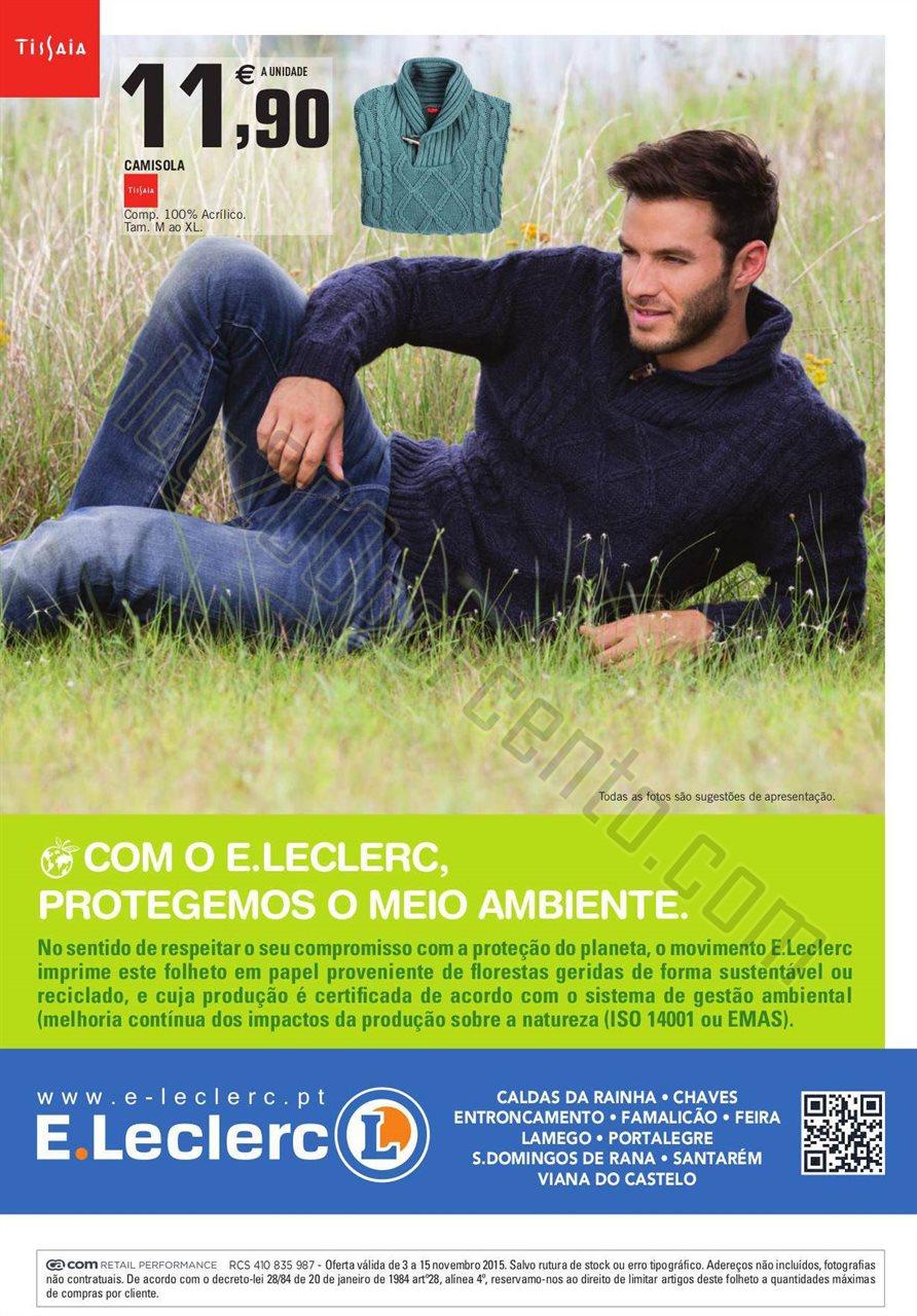 Antevisão Folheto E-LECLERC Especial Malhas promo