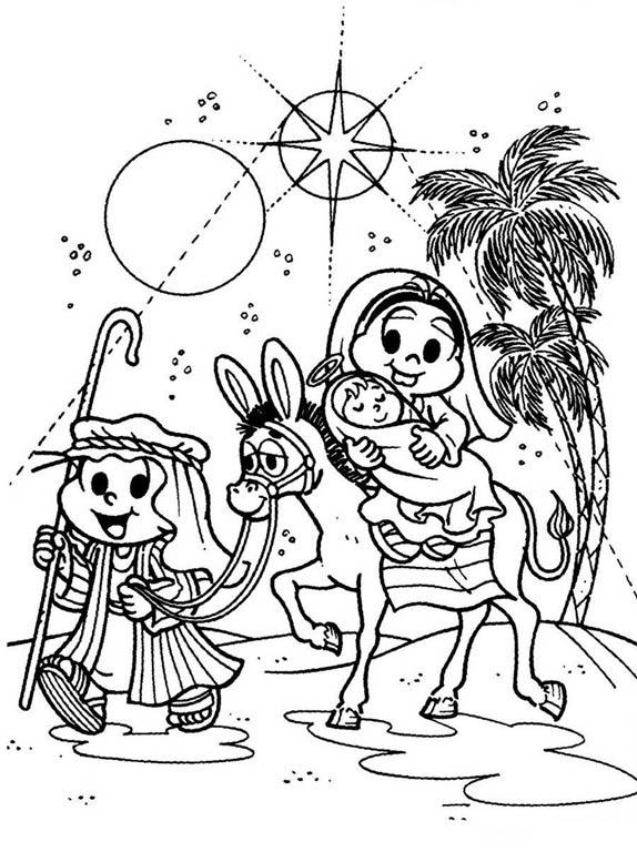 Natal Com A Turma Da Monica Vem Pintar