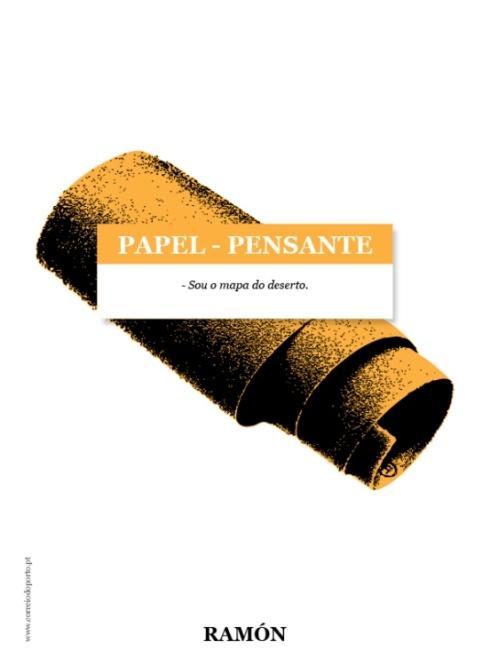 PAPEL-PENSANTE: Papel de Lixa por Ramón