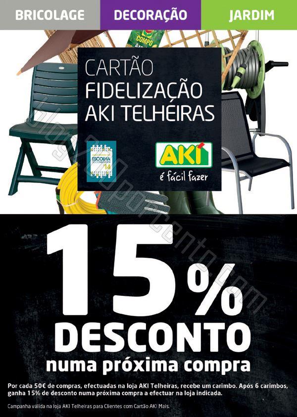 15% de desconto AKI Telheiras