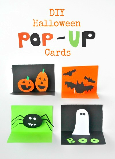 cartao halloween para imprimir pop up