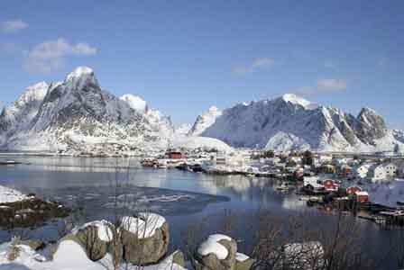 Dizem que é a aldeia mais bonita da Noruega, Rein