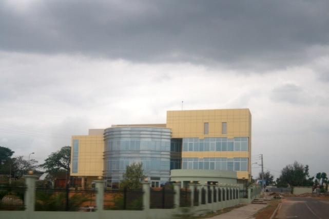 Centro Cultural Agostinho Neto, em Catete. Bengo. Foto: Mayra Fernandes