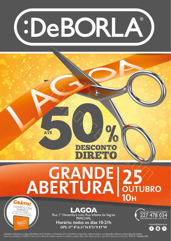 Antevisão Folheto DEBORLA Lagoa de 25 outubro a 2