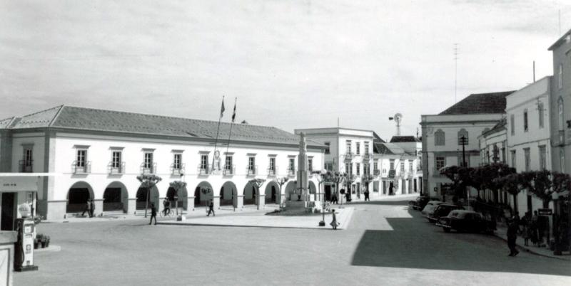 Praça da República, Tavira, s.d.
