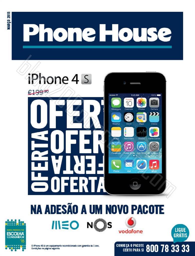 Antevisão Catálogo PHONE HOUSE de 5 março a 9 a