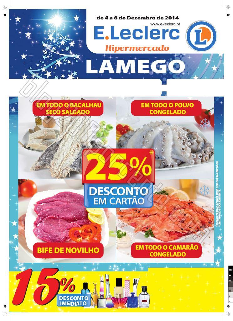 Folheto E-LECLERC Lamego até 8 dezembro p1.jpg