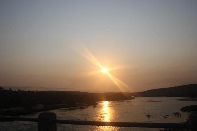 Pôr-do-sol no Dondo. Kwanza Norte. Foto: Mayra Fernandes