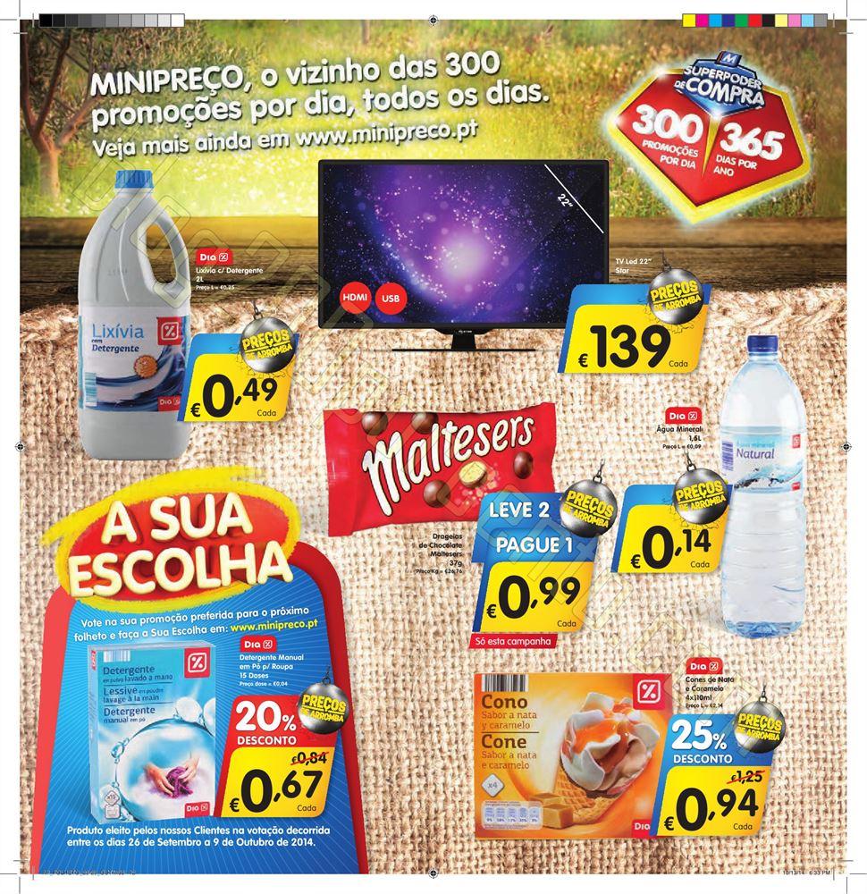 Antevisão Folheto MINIPREÇO de 23 a 29 outubro -