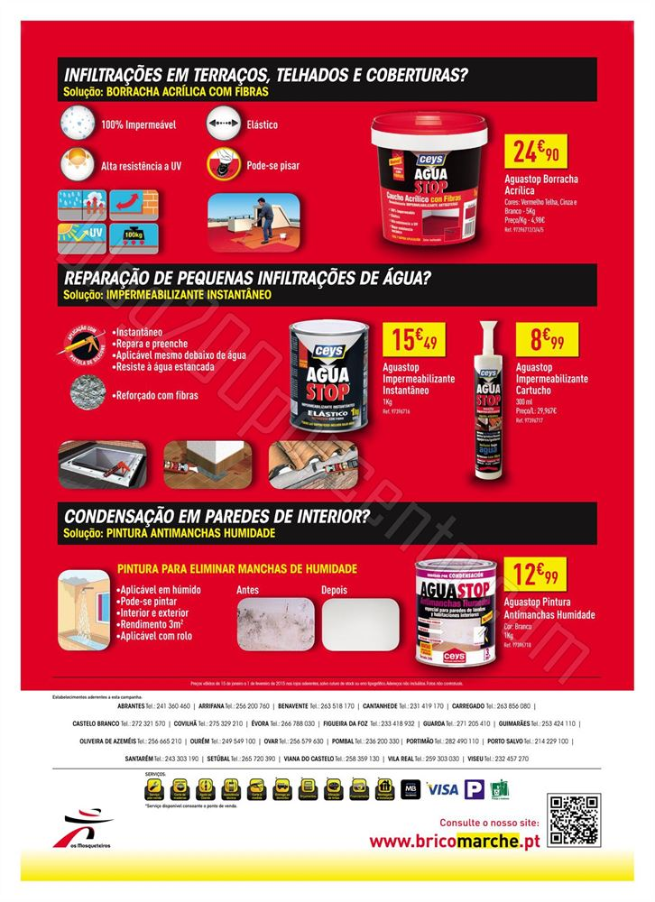 Novo Folheto BRICOMARCHÉ Ceys de 15 janeiro a 1 f