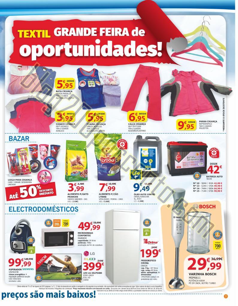 Novo Folheto E-LECLERC Feira promoções até 27 a