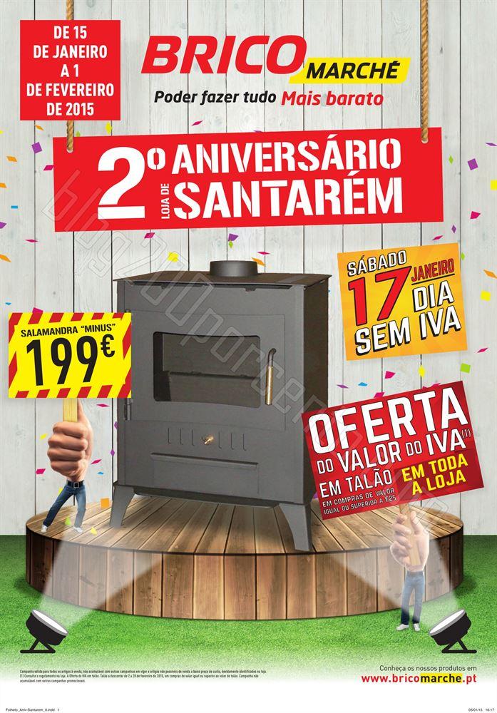 Novo Folheto BRICOMARCHE Santarem de 15 janeiro a