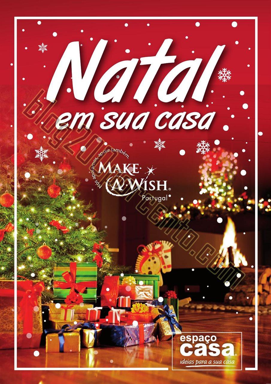 Novo Folheto ESPAÇO CASA Decoração Natal 2015 1