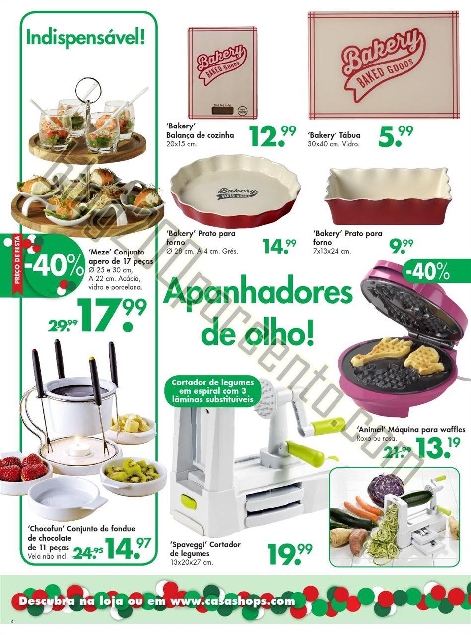 Novo Folheto Natal CASA promoções até 29 novemb