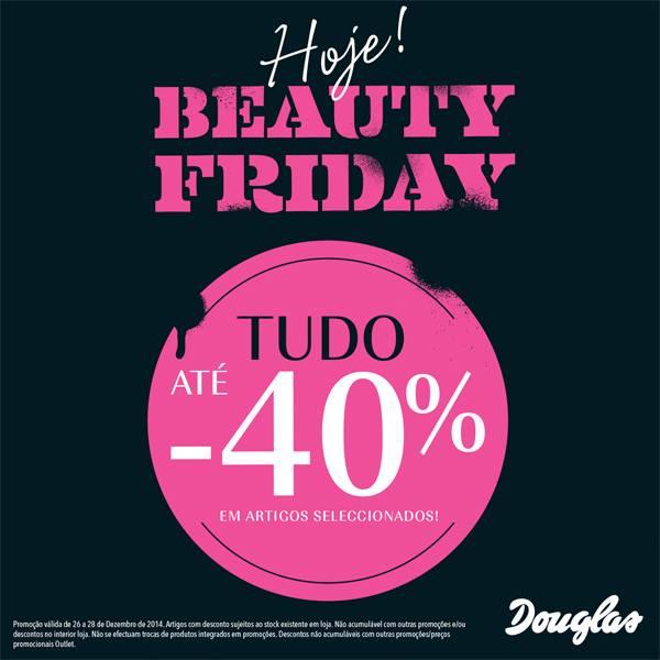 Beauty Friday DOUGLAS Tudo com 40% desconto de 26