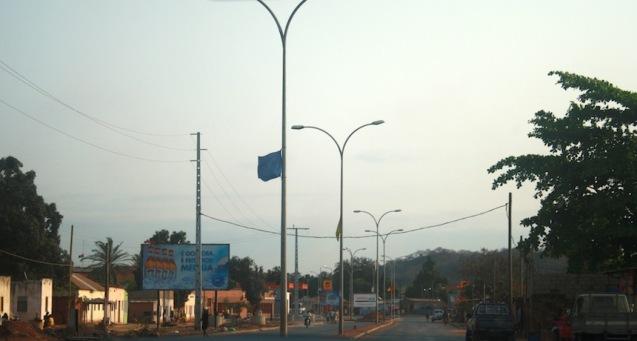 Cidade do Dondo, segunda cidade da província de Kwanza Norte. Foto: Mayra Fernandes