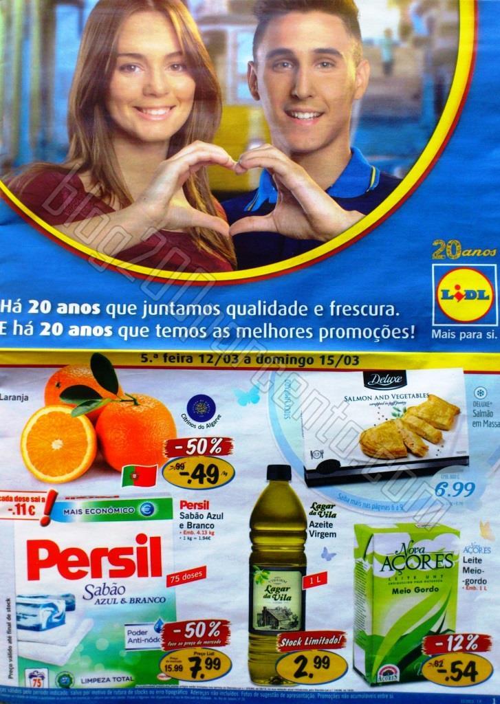 Antevisão Folheto LIDL Promoções de 12 a 18 mar