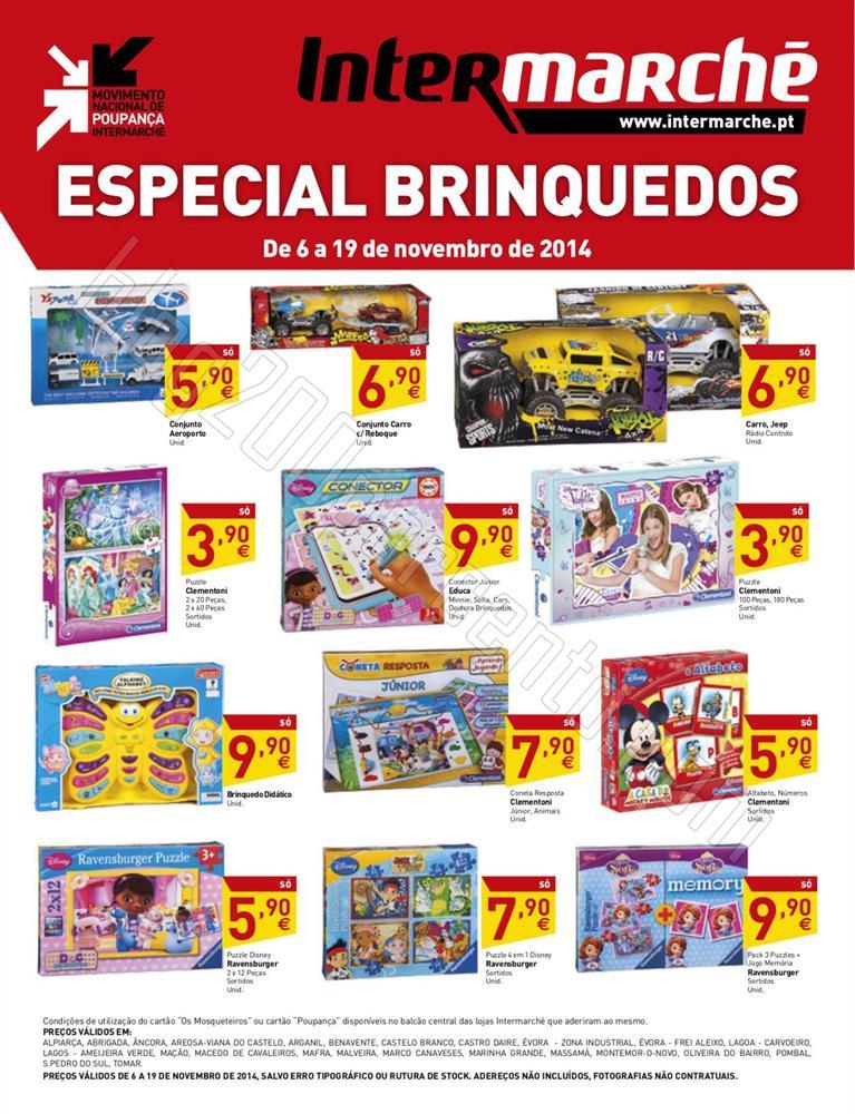 Antevisão Folheto INTERMARCHÉ Brinquedos de 6 a