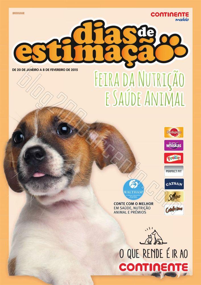 Antevisão Folheto CONTINENTE Aliemntação Animal