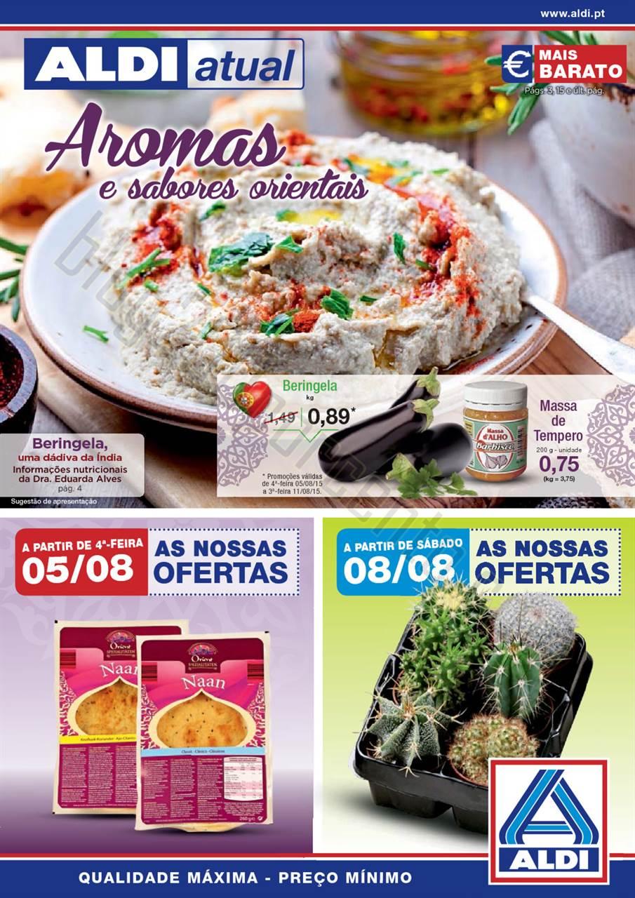 Antevisão Folheto ALDI Promoções a partir 5 ago