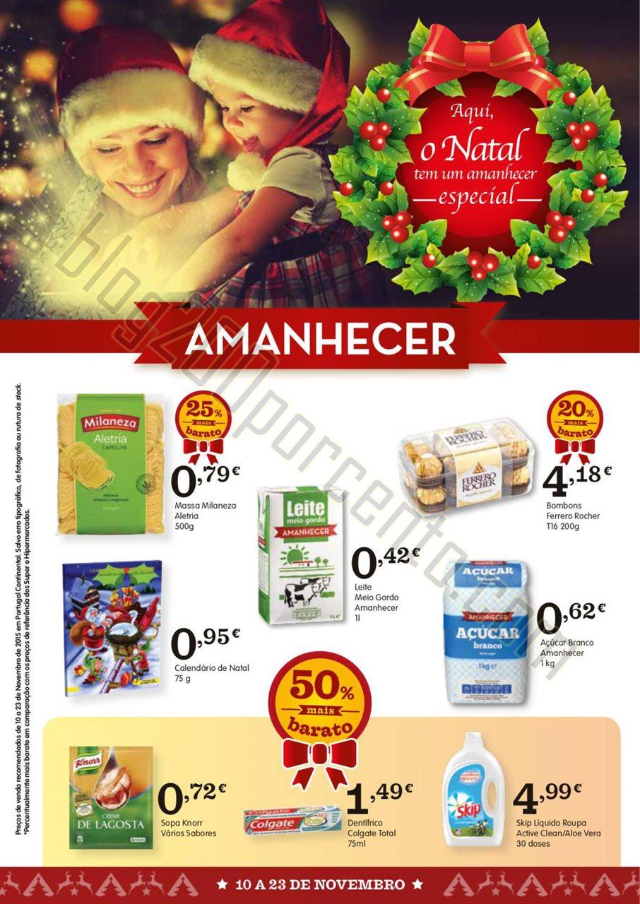 Antevisão Folheto AMANHECER promoções de 10 a 2