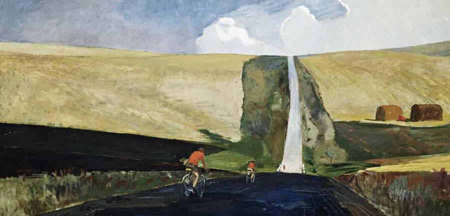Alexandre Alexandrovitch Deineka The Road  to the