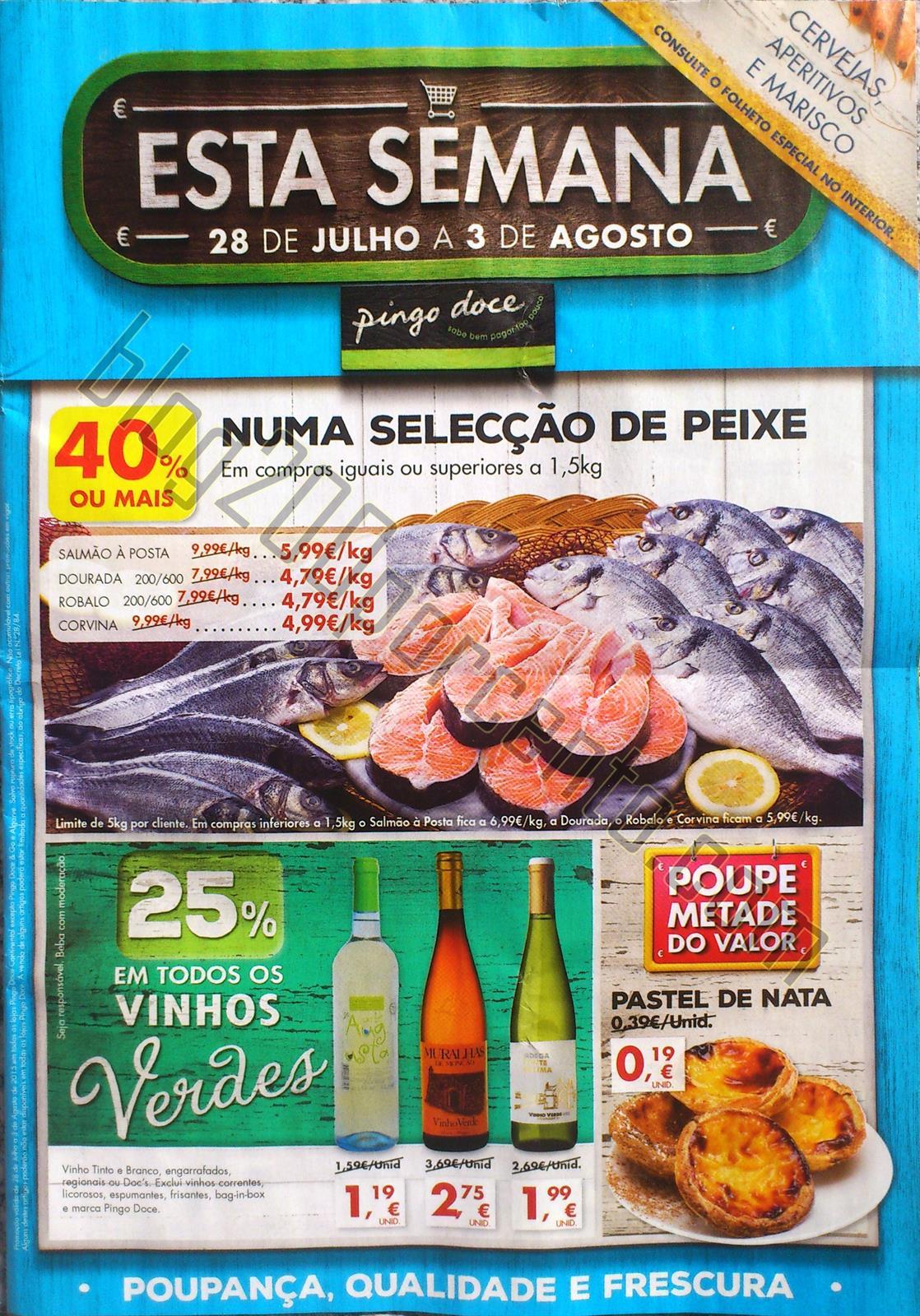 Antevisão Folheto PINGO DOCE Promoções de 28 ju